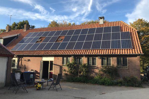 42 zonnepanelen – Bant