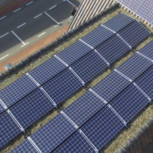33 zonnepanelen – Katwijk
